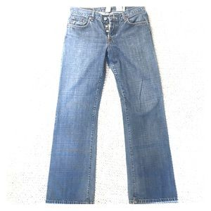 Lucky Brand buttonfly Easy Rider straight leg